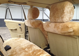 mercedes autositzbez ge aus lammfell. Black Bedroom Furniture Sets. Home Design Ideas