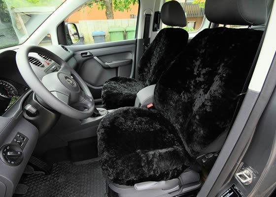 lammfell autositzbez ge volkswagen golf 5 und caddy. Black Bedroom Furniture Sets. Home Design Ideas