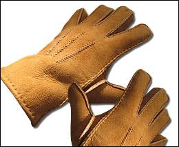 buy popular 037ab 1d833 Leder Fingerhandschuhe mit echtem Lammfell innen - nie mehr ...